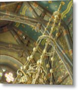 Sage Chapel Ceiling And Light Metal Print