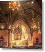 Sage Chapel II Metal Print