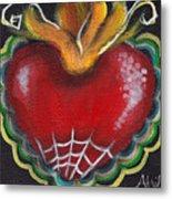 Sagrado Corazon 2 Metal Print by  Abril Andrade Griffith