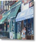 Sahadis Atlantic Avenue Brooklyn Metal Print