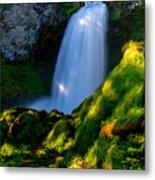 Sahalie Falls Metal Print