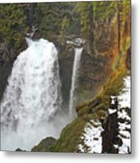 Sahalie Falls, Oregon Metal Print
