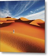Sahara Desert, Algeria Metal Print