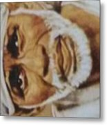 Sai Baba Metal Print