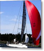 Sail Away - Watecolor Metal Print