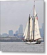 Sail Boston 2017 Union And Spirit Of South Carolina Metal Print