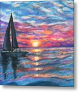 Sail On And Fly Like The Wind Metal Print by The Art With A Heart By Charlotte Phillips