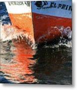 Sail On The Nile Metal Print