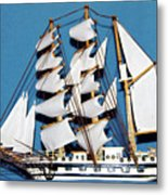 Sail Ship Metal Print