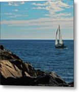 Sail View Metal Print