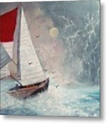 Sailboat 2 Metal Print