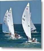 Sailboat Championship Racing 5 Metal Print