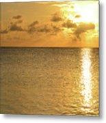 Sailboat On The Horizon 3 Metal Print