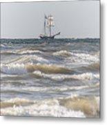 Sailin Home Metal Print