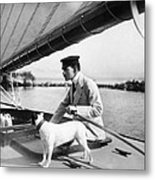 Sailing, 20th Century Metal Print