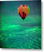 Sailing Above The Storm Metal Print