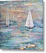 Sailing Away 1 Metal Print