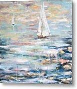 Sailing Away 2 Metal Print