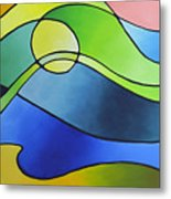 Sailing Away, Canvas Three Metal Print