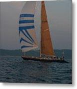Sailing Away Metal Print