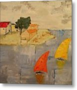 Sailing-boats Metal Print
