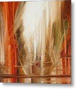 Sailing Metal Print by Fatima Stamato