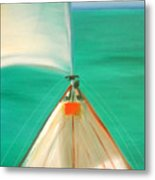 Sailing Metal Print by Gina De Gorna