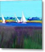 Norfolk Sails Metal Print
