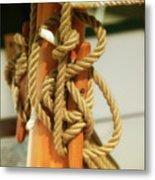 Sailing Knot Metal Print