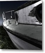 Sailing Land Metal Print