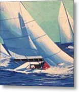 Sailing Regatta Metal Print