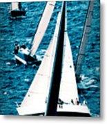Sailing Regatta Metal Print