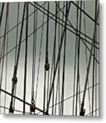Sailing Rhythm Metal Print