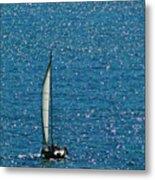 Sailing Solo Metal Print