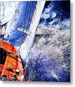 Sailing Souls Metal Print