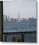 Sailing The Hudson River 1 Metal Print