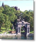 Sailing The Thousand Islands Canada Metal Print