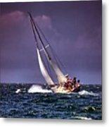 Sailing To Nantucket 001 Metal Print