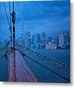 Sailing To The Present Metal Print