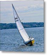 Sailor Coming Home Metal Print