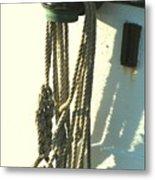 Sailor's Knot Metal Print