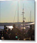 Sails And Sunsets Metal Print