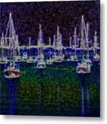 Sails At Sunrise Metal Print
