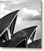 Sails Of Sydney Opera House Metal Print