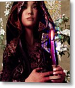 Saint Agnes And The Holy Spirit Metal Print