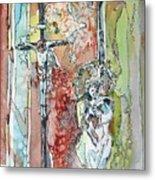 Saint Cecilia Ronda Spain Metal Print