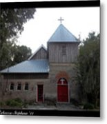 Saint Cyprians Episcopal Church Metal Print