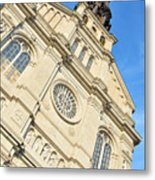 Saint Jean Baptiste Church In Quebec City Metal Print