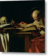Saint Jerome Writing Metal Print