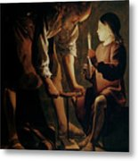 Saint Joseph The Carpenter  Metal Print